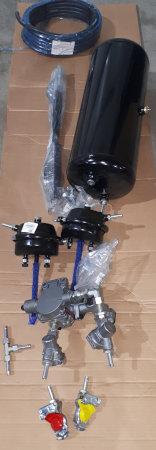 Bremsanlage die mit Druckluft funktioniert